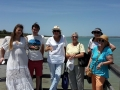 Lovely group from Mandurah, Perth, Canberra and NSW. This photo is taken at The Thrombolites