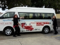COMPETITION TIME: Spot The Bus. Can you Spot Shelby Too on the road. Take a photo, tag in Mandurah Wine Tours and Charters in and go in the running for a Wine Tour for Two in the Peel Region. Competition starting now until the end of July 2016. Ladies in the photo are from Mandurah Visitor Centre.