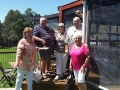 Lovely people from Mandurah enjoying their day out on our Mandurah to Ferguson Valley tour
