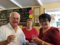 Lovely people from Northern NSW enjoying tastings at Lake Clifton Winery on Mandurah Cruises Cruise and Tour.
