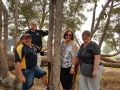 Lovely people from Mandurah enjoying themselves after lunch on our Mandurah to Harvey tour.
