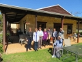 Mandurah Historical Society members out on our Half Day Wine Tour stopping at Vineyard 28.