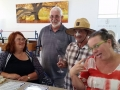 Lovely people from Perth and Tasmania enjoying a birthday celebration on our Mandurah to Harvey tour.