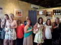 Lovely ladies enjoying the Hens Party on our Mandurah to Harvey tour.