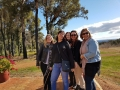 Girls from Applecross High School many years ago on our Mandurah to the Hills.