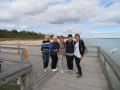 Half Day Heroines from Perth and England on our Mandurah to Myalup Tour enjoying their day out.
