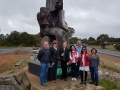 Fascinating Fergus friends from USA, Singapore and Queensland on our Mandurah to Margaret River in one day.