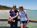 Lovely Sisters from Perth and UK enjoying their day out on our Mandurah to Harvey tour Thrombolites, Lake Clifton
