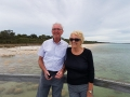Terrific Thrombolite watchers from England on our Mandurah to Harvey tour.