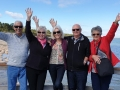 Lovely people from Mandurah and Queensland atLake Clifton Thrombolites - Yalgorup National Parkon our Mandurah to Harvey Wine Tour.