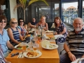 This is what you do just before you get on Mandurah Cruises and then is some of what we do at lunch CAFÉ COAST Restaurant on our Cruise and Tour. Lovely people from UK, Mandurah and Bunbury.