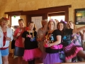 Hens Day Out for these great ladies enjoying tastings at Vineyard 28 on our Mandurah to Harvey tour.