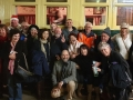 Took a group of 12 to the Hotham Valley RailwayRestaurant Train and everybody wanted to get in the photo.