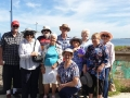 This is the U3A group from Mandurah ready to get onto the ferry to Penguin Island.