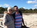 Lovely day at Lake Clifton Thrombolites - Yalgorup National Park on our Mandurah to Harvey Wine Tour.