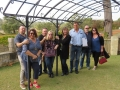 Fantastic Ferguson Hart Estate tasters after enjoying their tastings on our Ferguson Valley Wine Tour.
