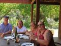 Lovely people from UK after their lunch at Stirling Cottage Kitchen on our Mandurah to Harvey Wine Tour.